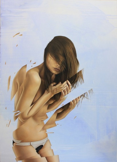 'Breathe' - 140x110cm - oil on canvas