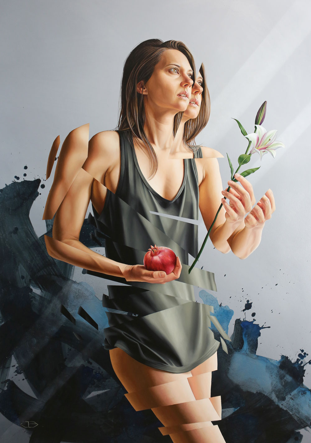 James Bullough |Realistic murals paintings