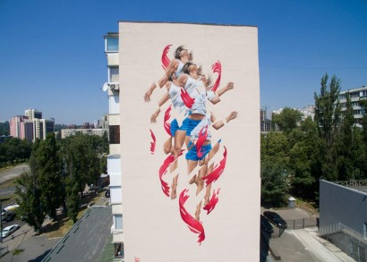 'Rise' - Kiev, Ukraine - Art United Us Project
